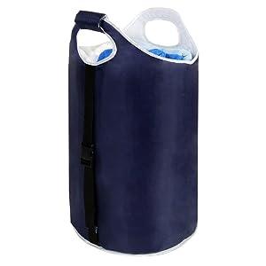 Amazon Com Pro Mart Dazz Soft Padded Garment Hamper Blue