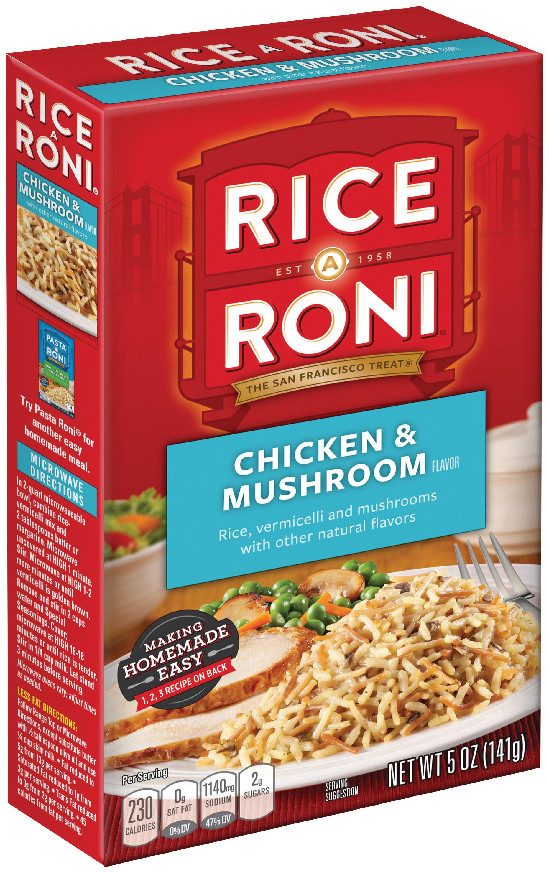 how to make chicken rice mix