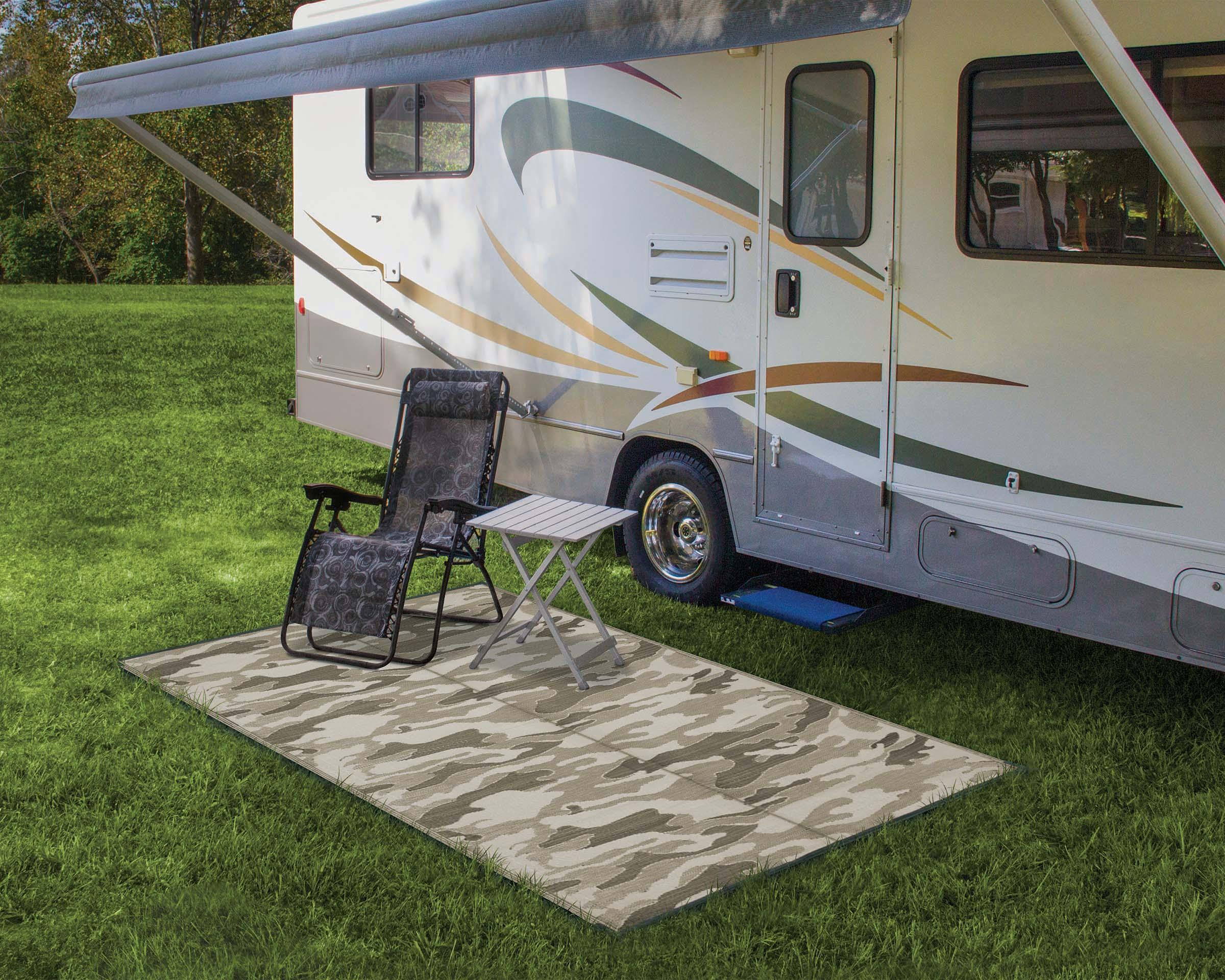 Amazon.com: Camco Reversible Outdoor Patio Mat - Mold and
