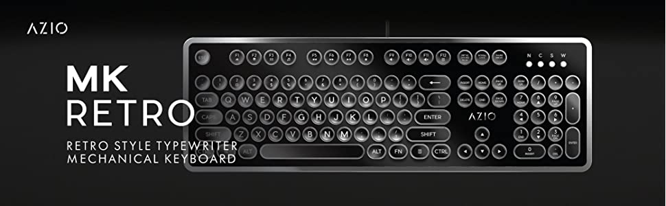 MK RETRO TYPEWRITER MECHANICAL KEYBOARD