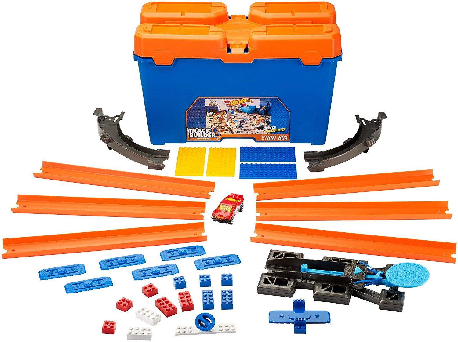 Amazon Com Hot Wheels Track Builder Stunt Box Toys Amp Games