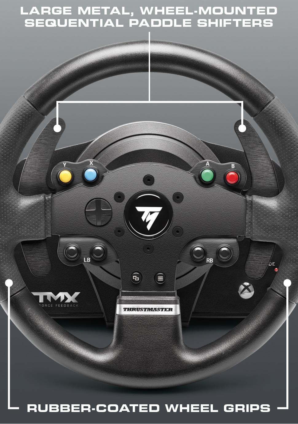 The Wheel Of Fortune Tarot Card Meaning In Readings The: Amazon.com: Thrustmaster TMX Force Feedback Racing Wheel