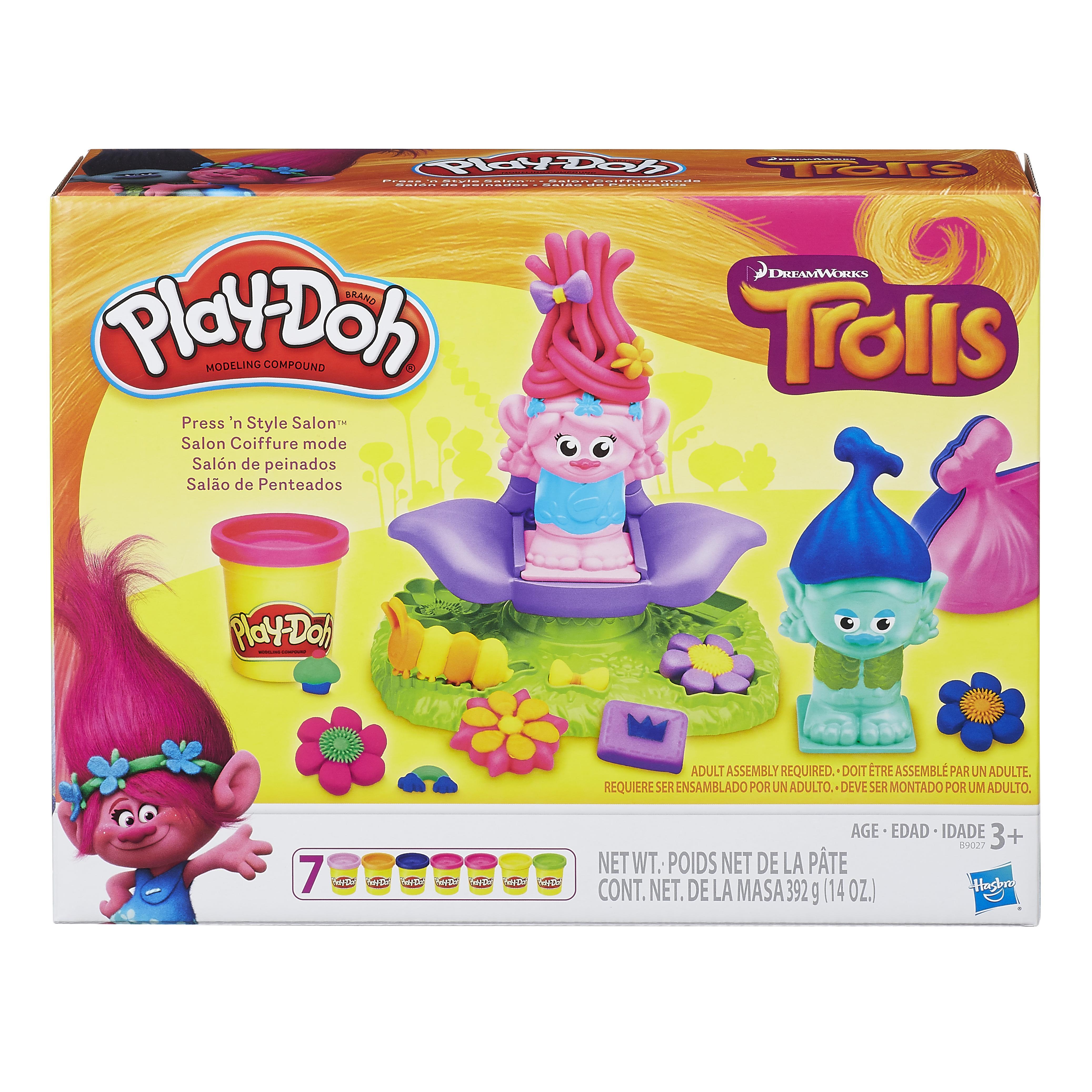 Play Toys Com : Amazon play doh dreamworks trolls press n style