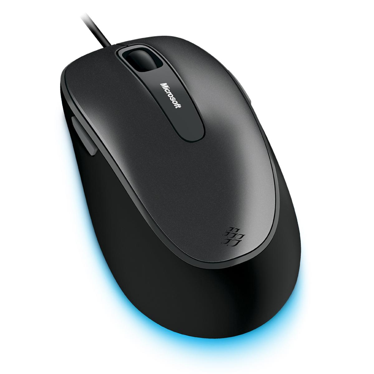 microsoft comfort mouse 4500 lochness gray computers accessories. Black Bedroom Furniture Sets. Home Design Ideas