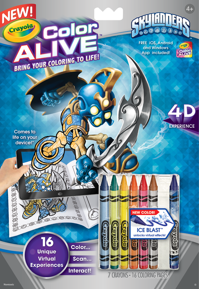 Amazon Crayola Color Alive Action Coloring Pages