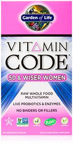Garden Of Life Multivitamin For Women Vitamin Code Raw One Whole Food Vitamin