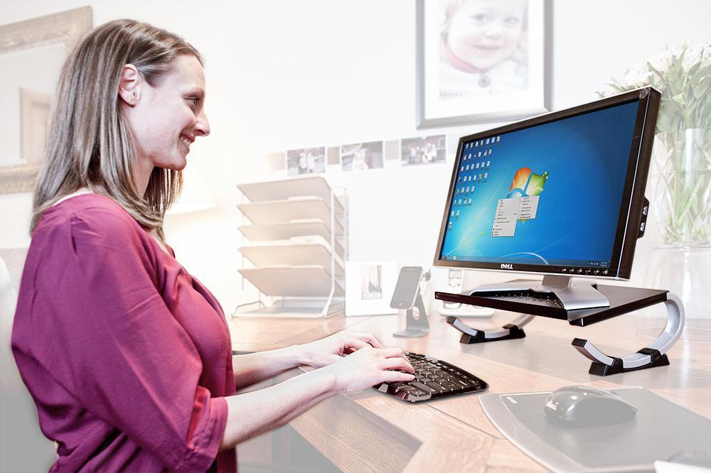 Amazon Com Allsop Redmond Adjustable Laptop Stand Vented