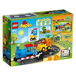 Amazoncom Lego Duplo Push Train 10810 Train Toy Toys Games