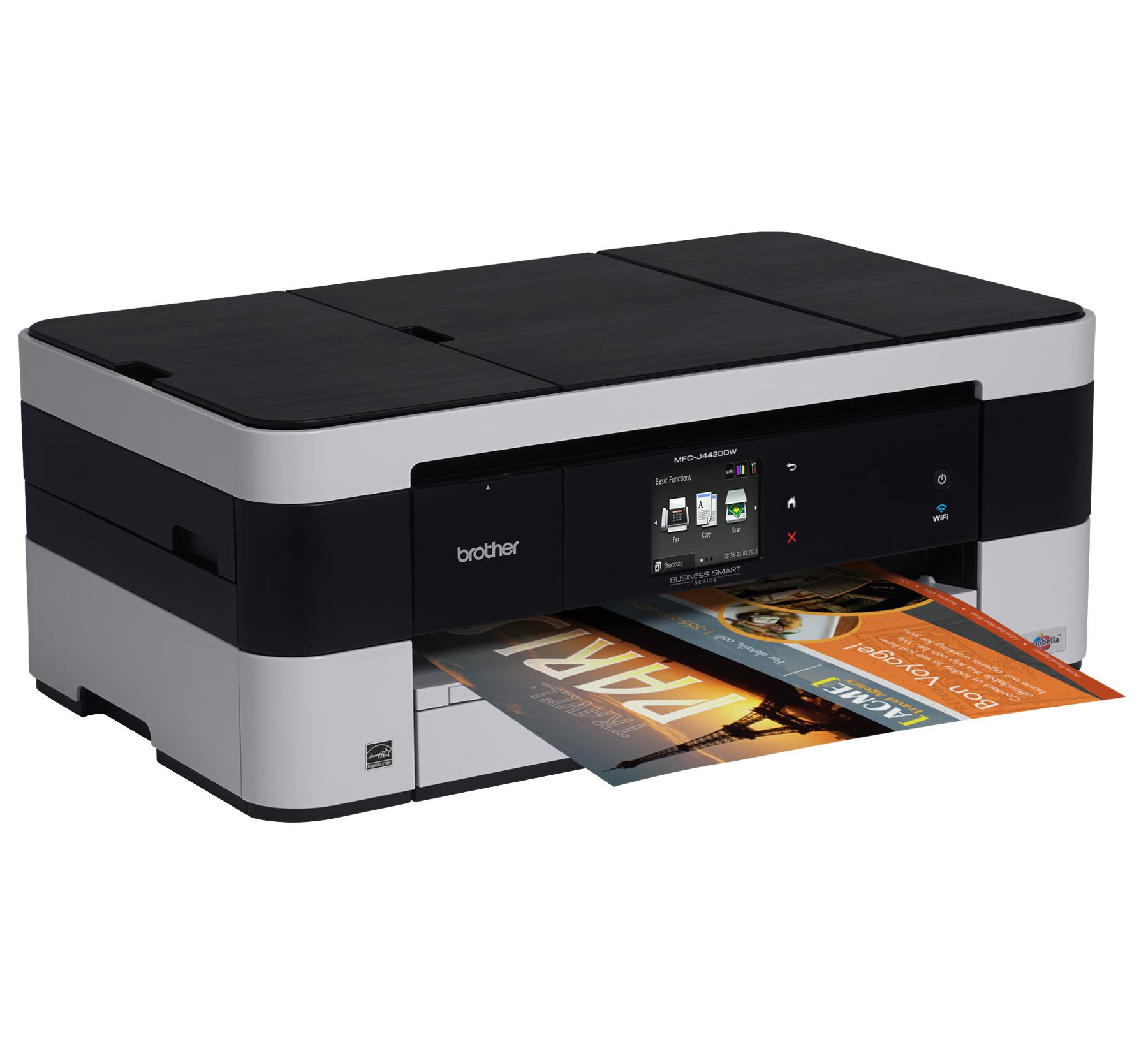 Amazon Brother Printer MFCJ4420DW Wireless Color Inkjet All