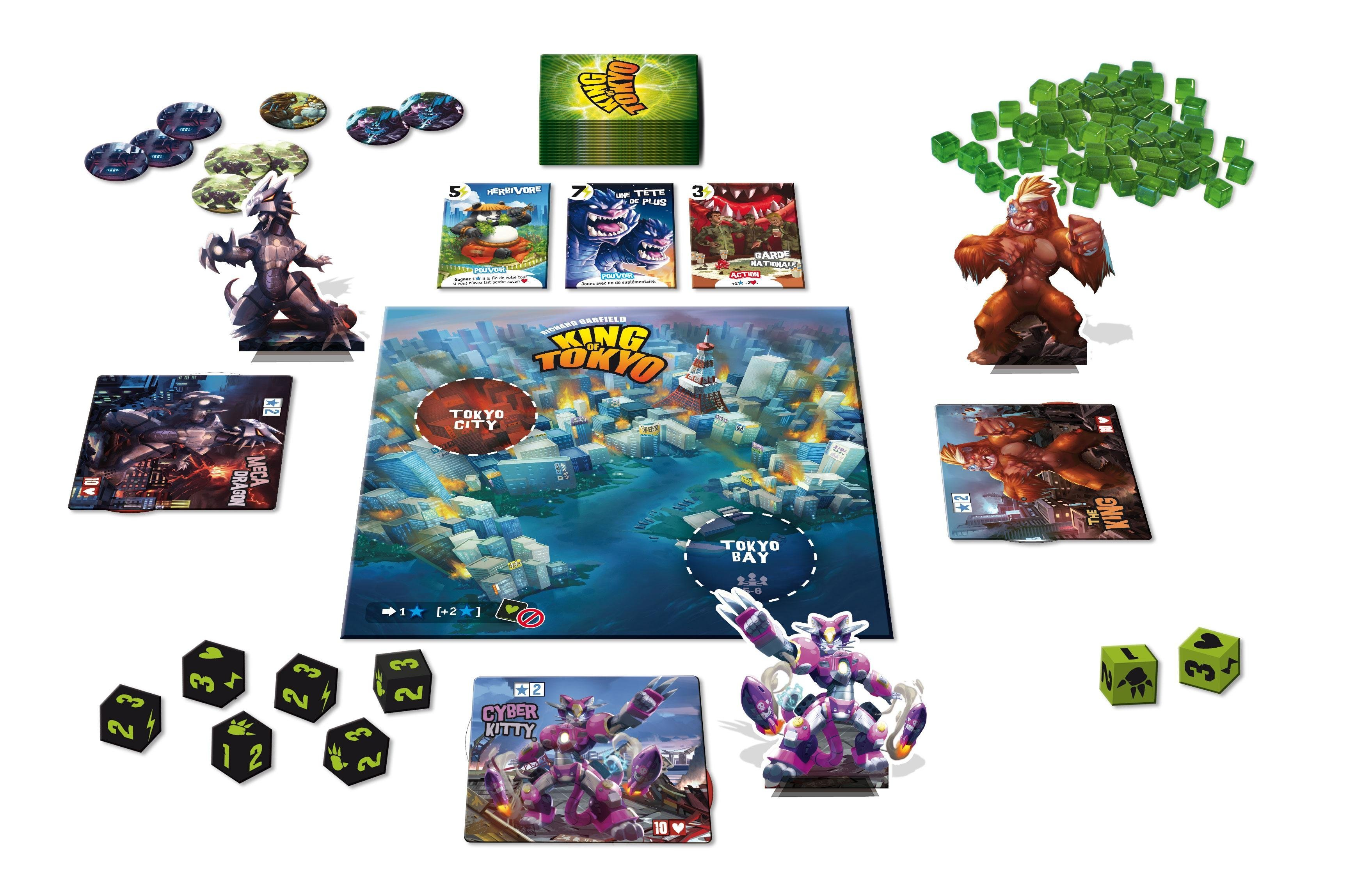 Can I play King of Tokyo with the King of New York set ...