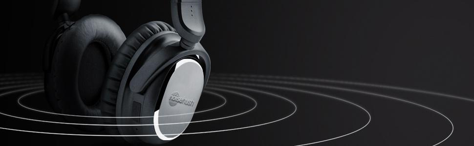 noisehush, i9, bluetooth, headphones, wireless, active noise cancelling