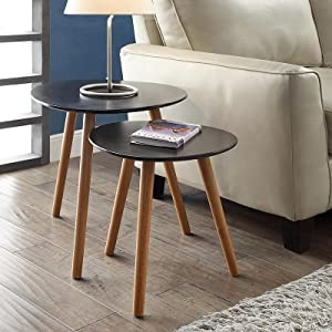 Exceptional Nesting End Tables