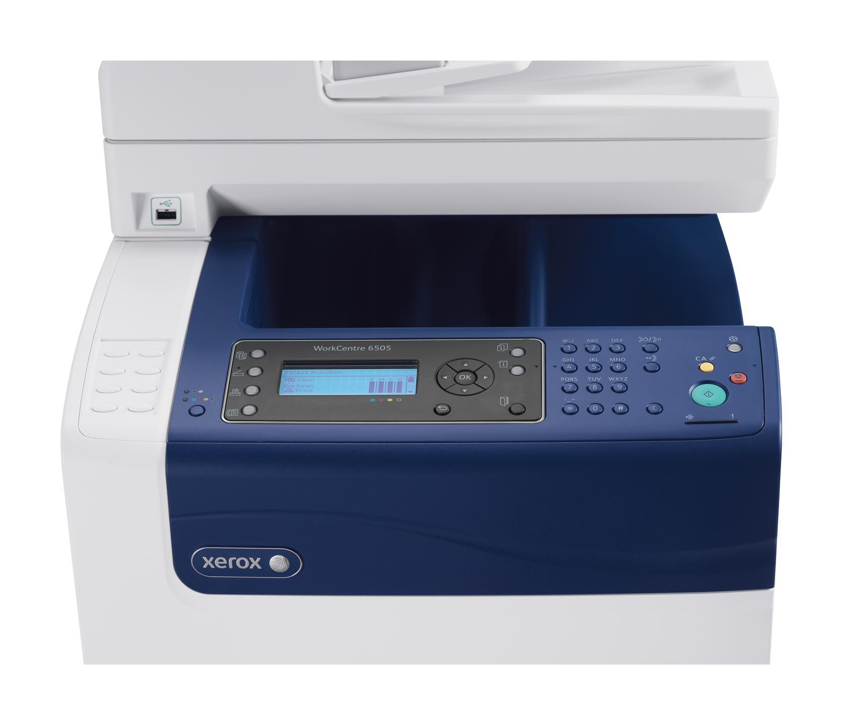 Amazon Com Xerox Workcentre 6505 Dn Color Multifunction