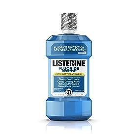 LISTERINE FLUORIDE DEFENSE Anticavity Mouthwash