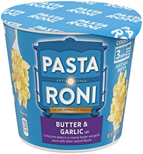 Pasta roni butter and garlic