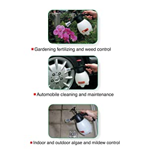 Sprayer spray bugs weeds bacteria cleaners disinfectants herbicides insecticides fungicides