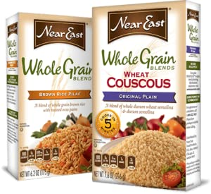 Near east whole grain blends rice pilaf and couscous