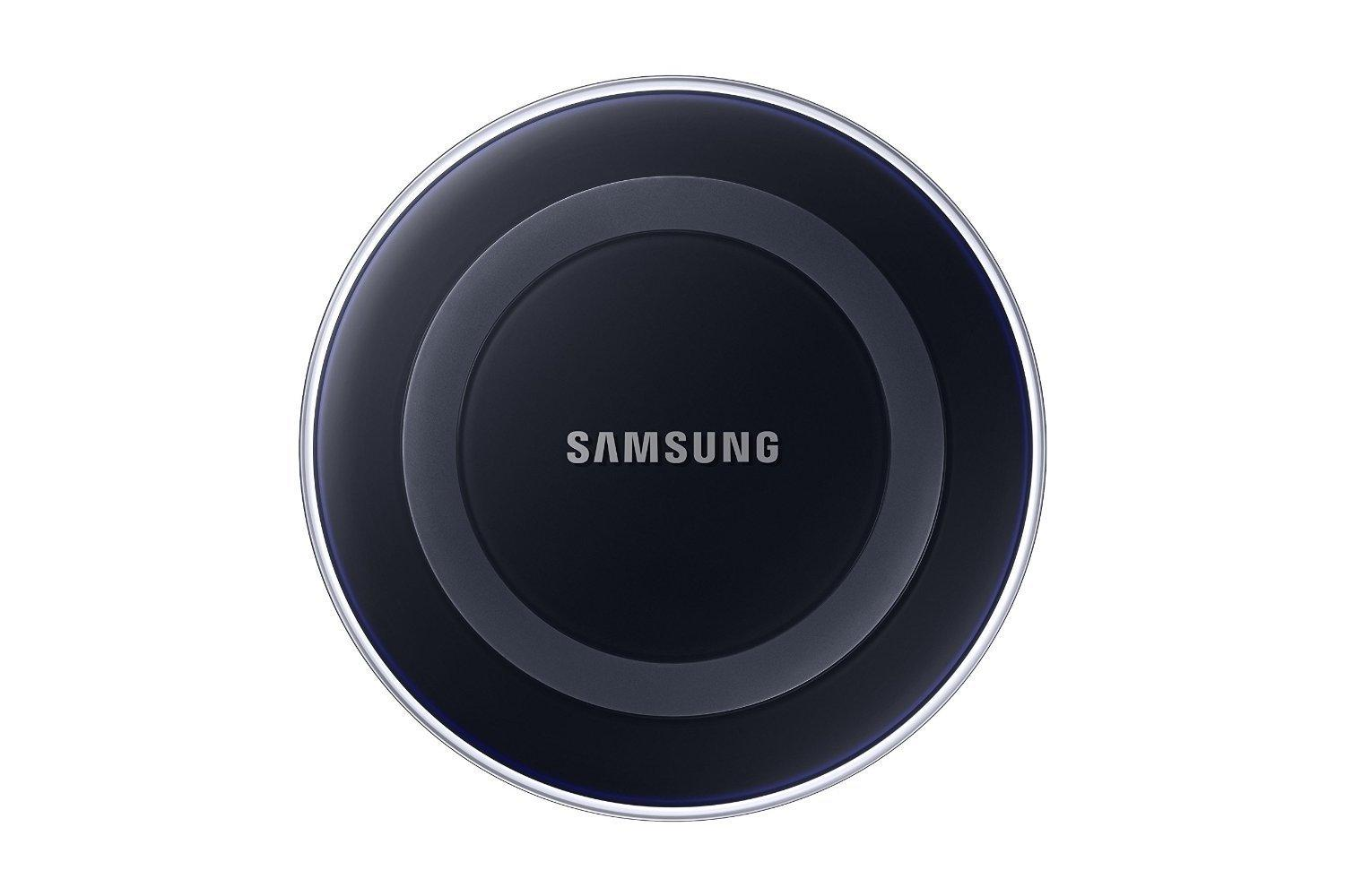 samsung wireless charging pad with 2a wall charger w warranty frustration free. Black Bedroom Furniture Sets. Home Design Ideas