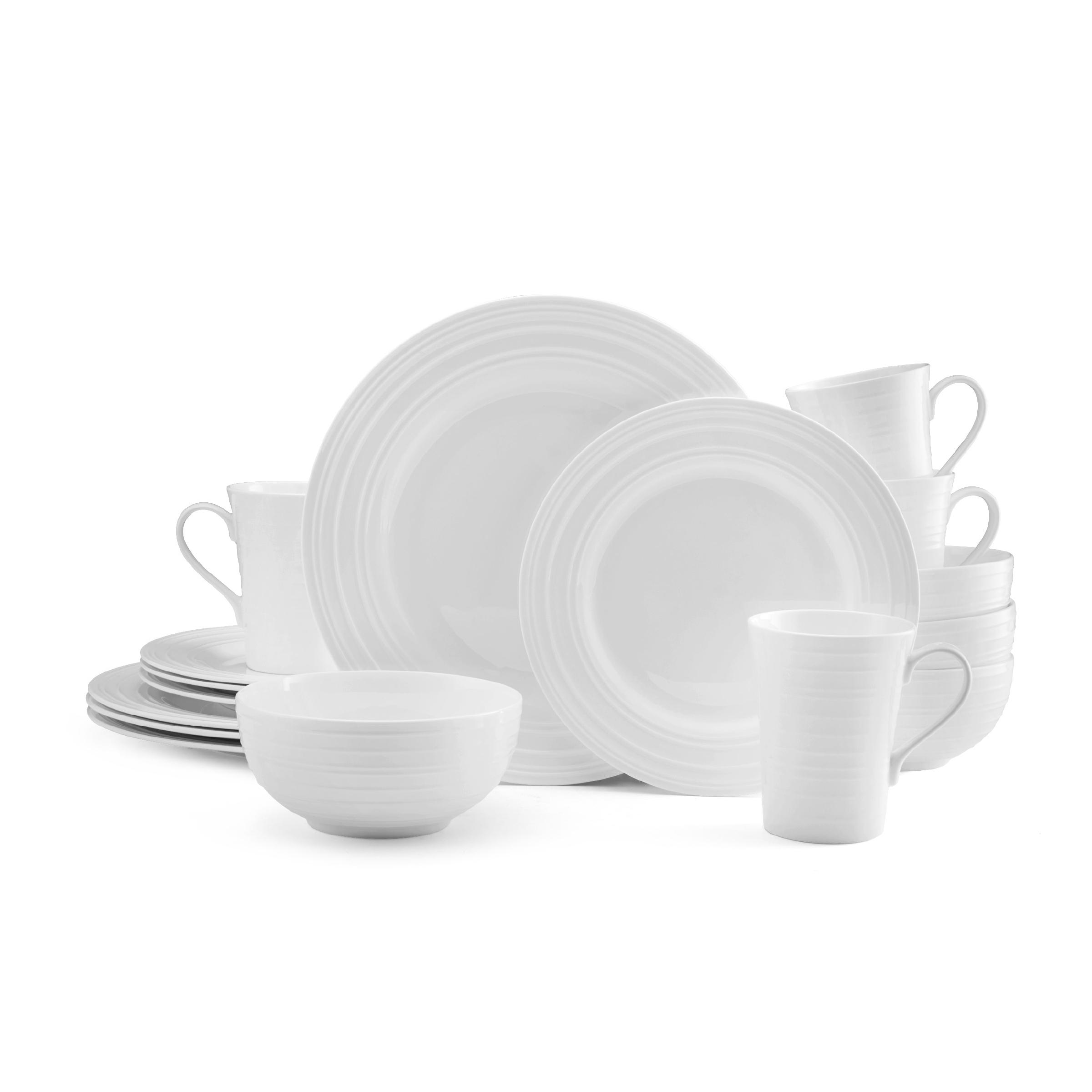 View larger  sc 1 st  Amazon.com & Amazon.com: Mikasa Delray 16-Piece Bone China Dinnerware Set ...
