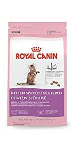 ROYAL CANIN FELINE HEALTH NUTRITION Kitten Spayed/Neutered dry cat food