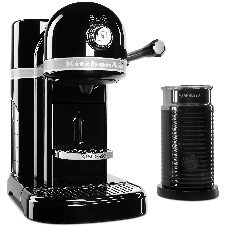 Amazon Com Kitchenaid Kes0503ob Nespresso Onyx Black