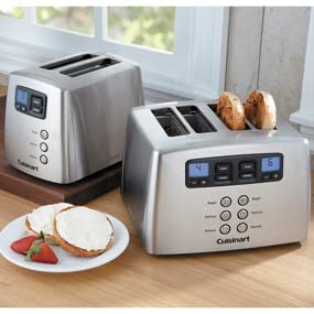 Amazon.com: Cuisinart CPT-440 Touch to Toast Leverless 4-Slice Toaster: Kitch...