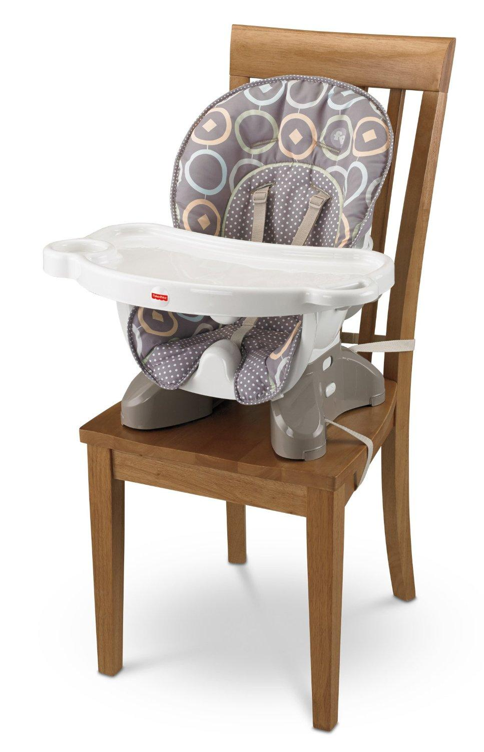 Fisher price spacesaver high chair luminosity baby - High chair for small spaces image ...