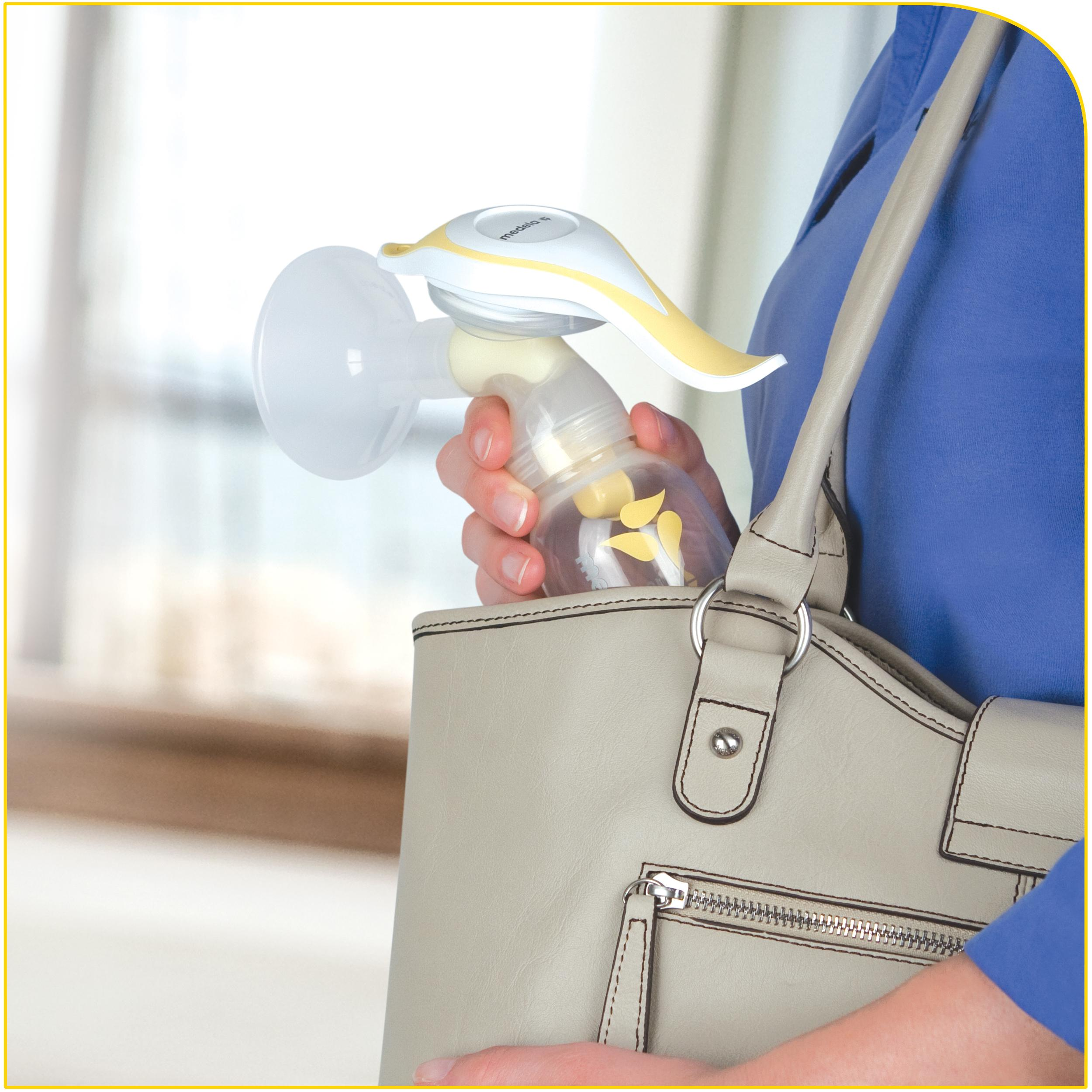 medela single manual breast pump