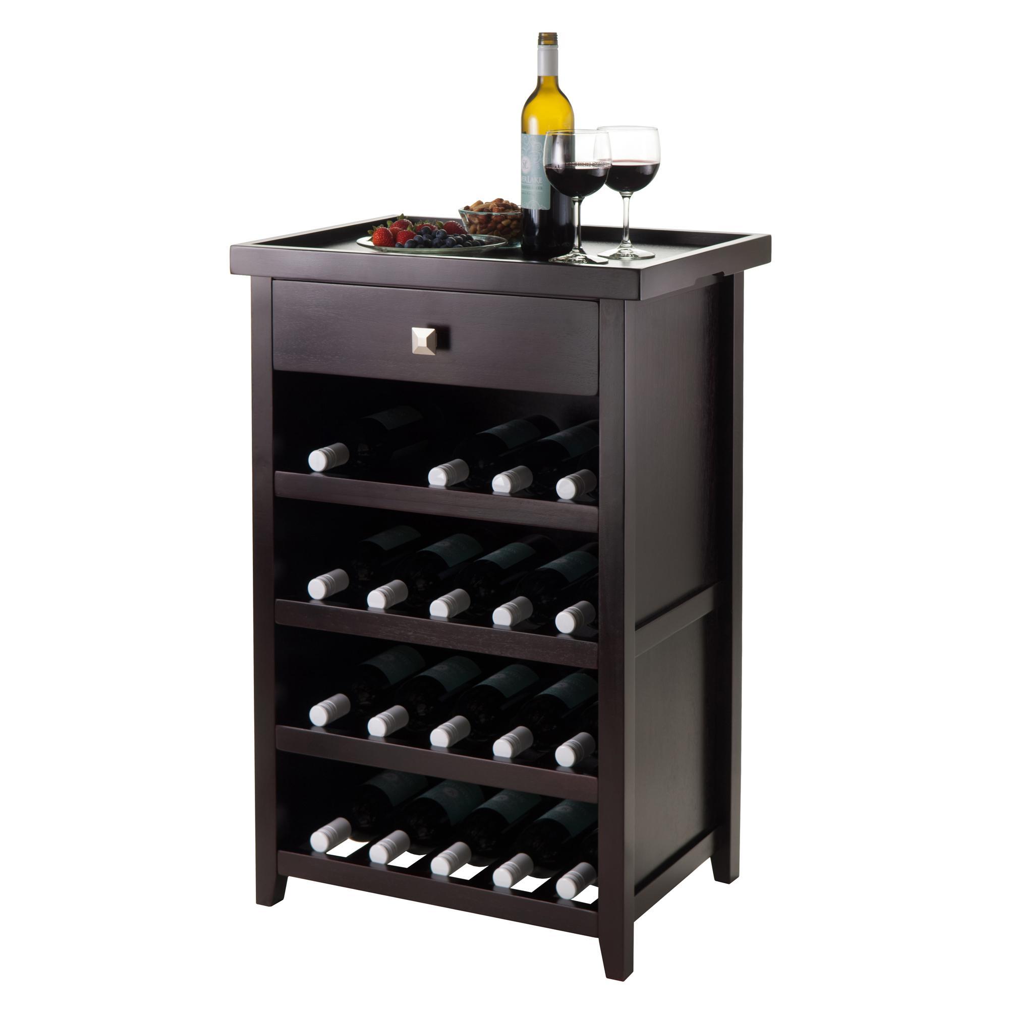 Wine Racks Kitchen Cabinets: Amazon.com: Winsome Wood Zillah Wine Cabinet With