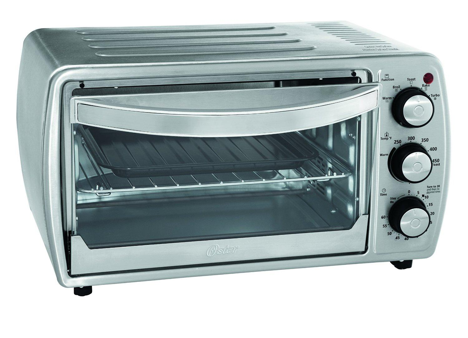 Oster TSSTTVCG02 Oster 6 Slice Convection Toaster Oven with Integrated ...