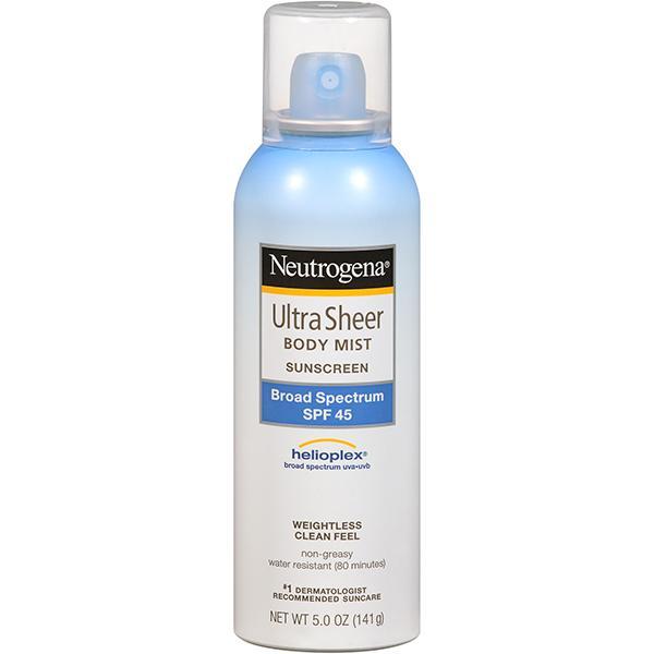 Spf 45 sunscreen