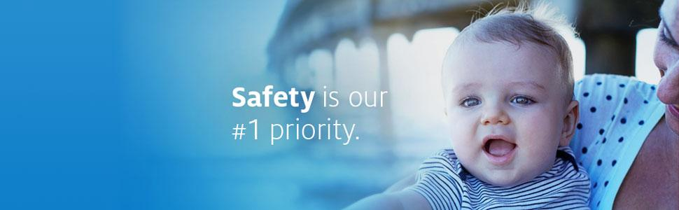 Johnson's - Safety is our #1 priority