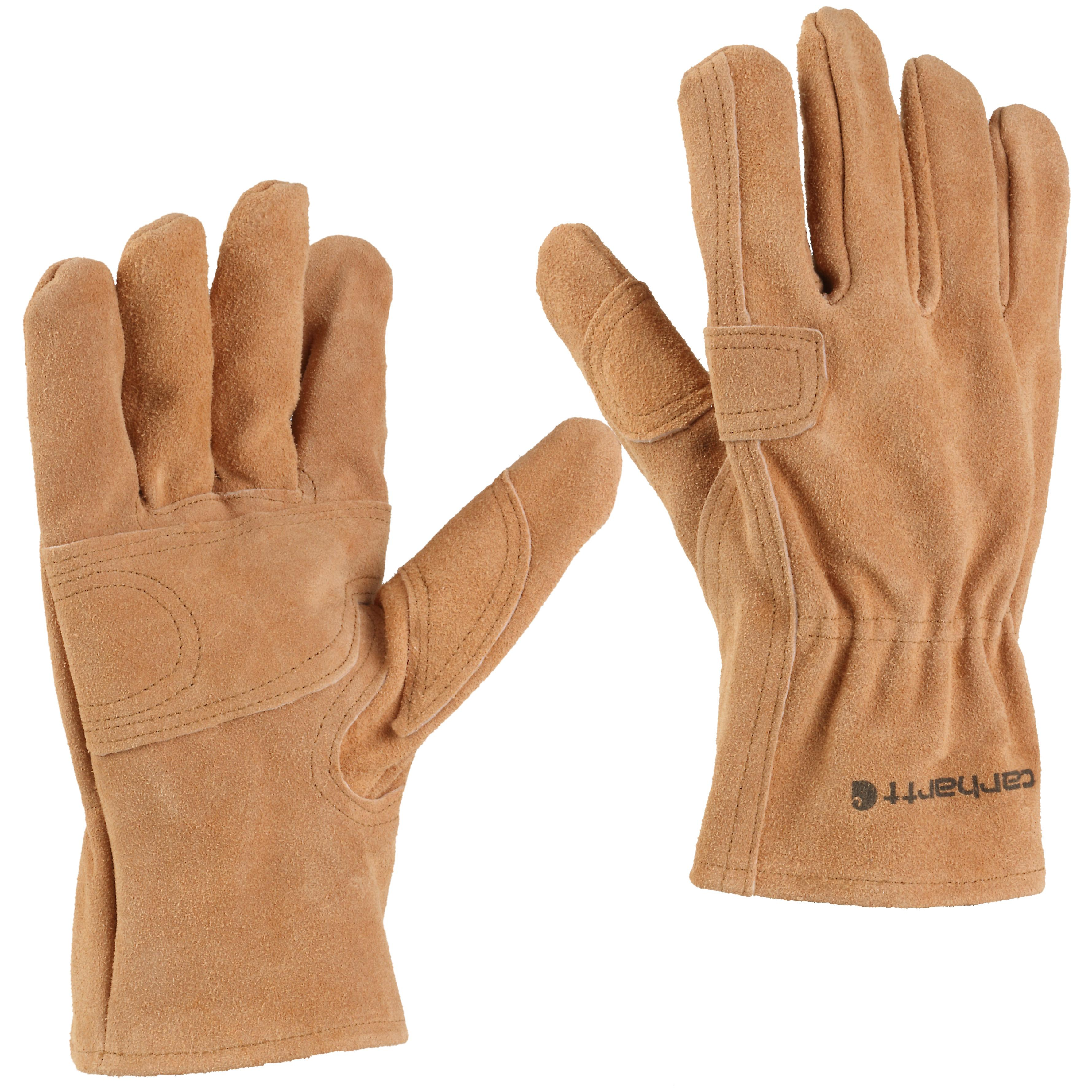 Leather work gloves drawstring - Leather Fencer Glove