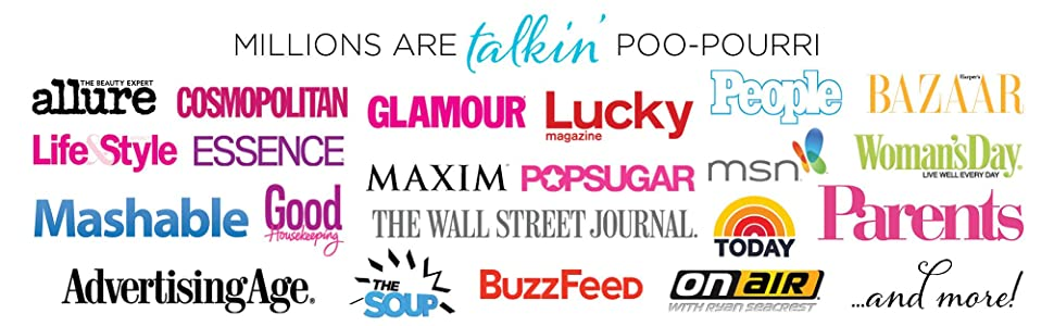 poo pourri press