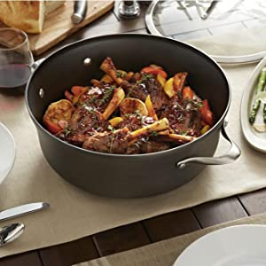 Calphalon Contemporary Nonstick 8.5-Quart Covered Dutch Oven - Large Capacity