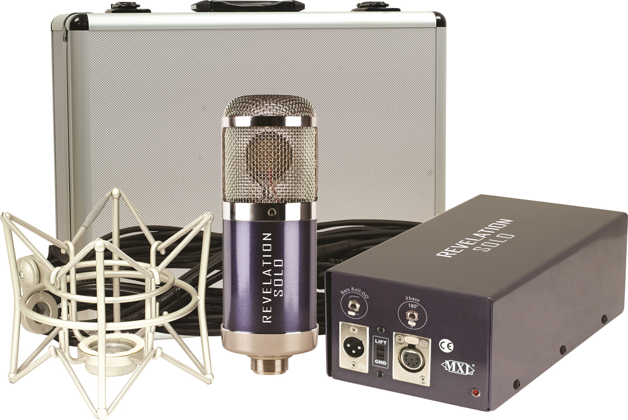 Amazon.com: MXL Revelation Solo Fixed Cardioid Pattern Tube ...