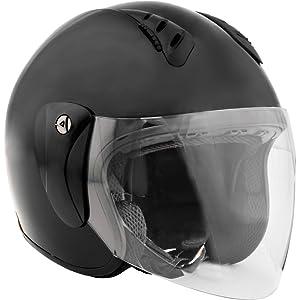 Amazon.com: Casco con abertura para rostro y protector Fuel ...