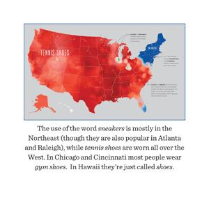 Speaking American How Yall Youse And You Guys Talk A Visual - Us pronunciation map
