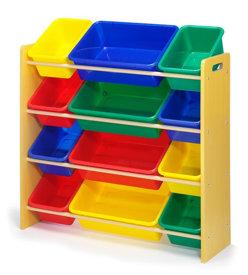 Childrens Kids 3 Tier Toy Bedroom Storage Shelf Unit 8: Amazon.com: Whitmor Kids Storage Collection 12 Bin