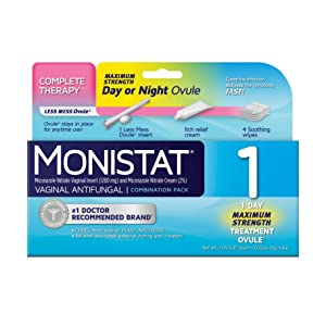 How to tell if monistat is working