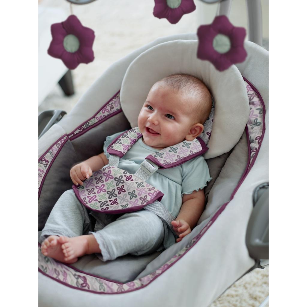 Amazon Com Graco Duetconnect Lx Swing Bouncer Finley