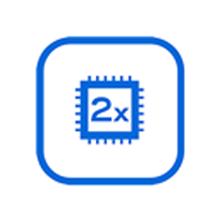 880 MHz dual core processor