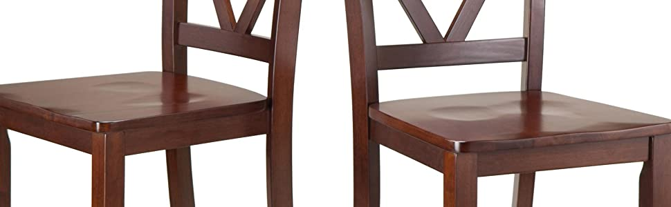 Amazon Com Winsome 94253 Victor Stools 24 Quot Brown