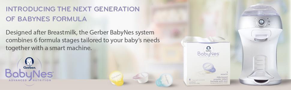 baby formula designed after breastmilk