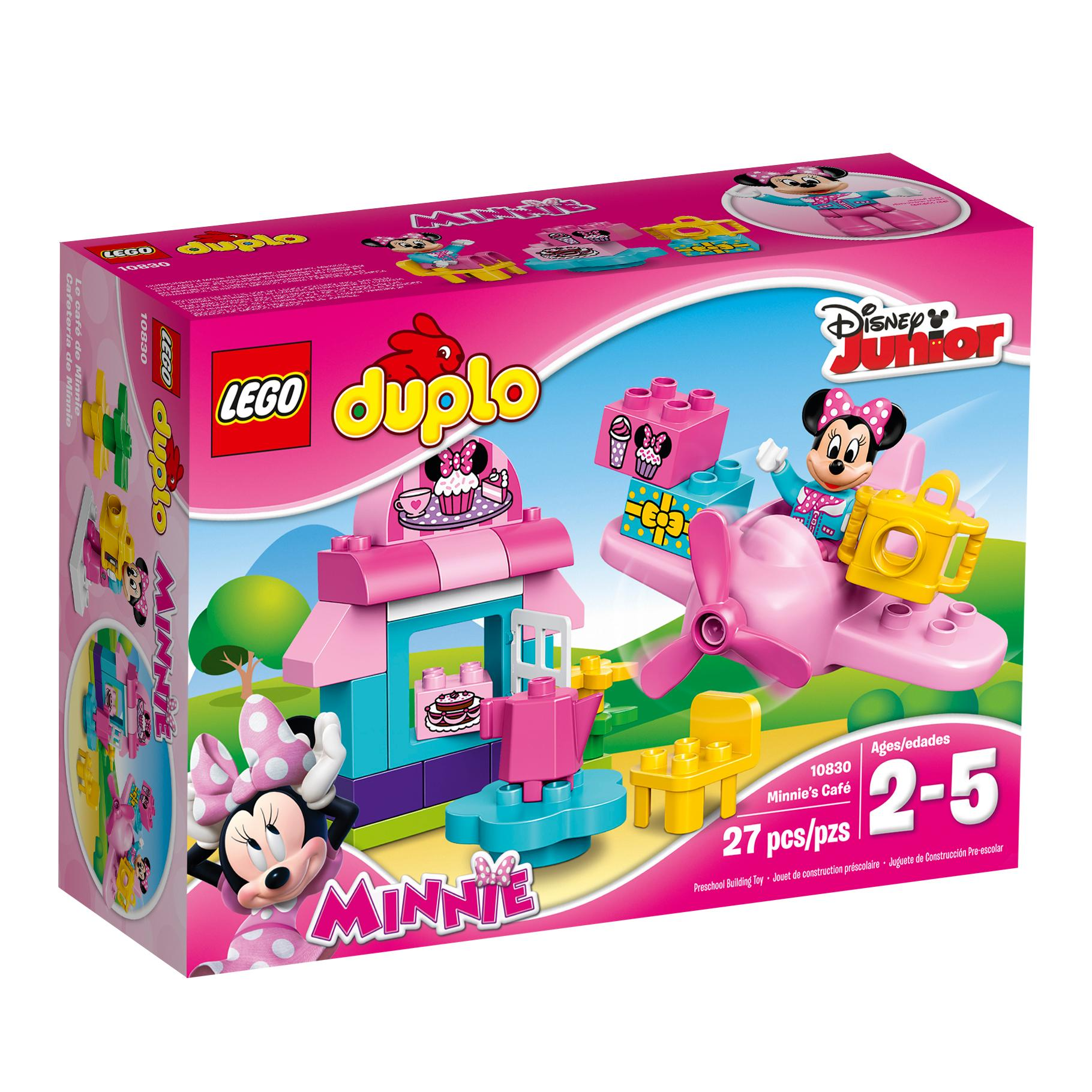 Amazoncom Lego Duplo L Disney Mickey Mouse Clubhouse Minnies Caf