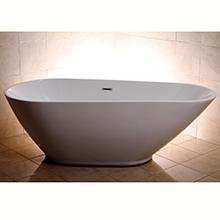 Oval Bathtub Tub Acrylic freestanding