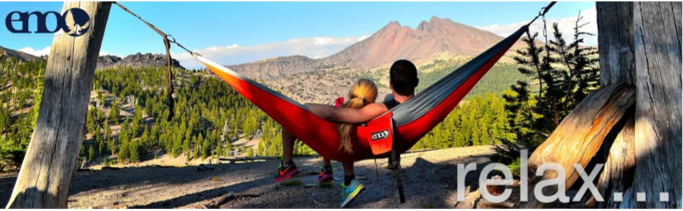 From the manufacturer - Amazon.com: ENO Eagles Nest Outfitters - DoubleNest Hammock