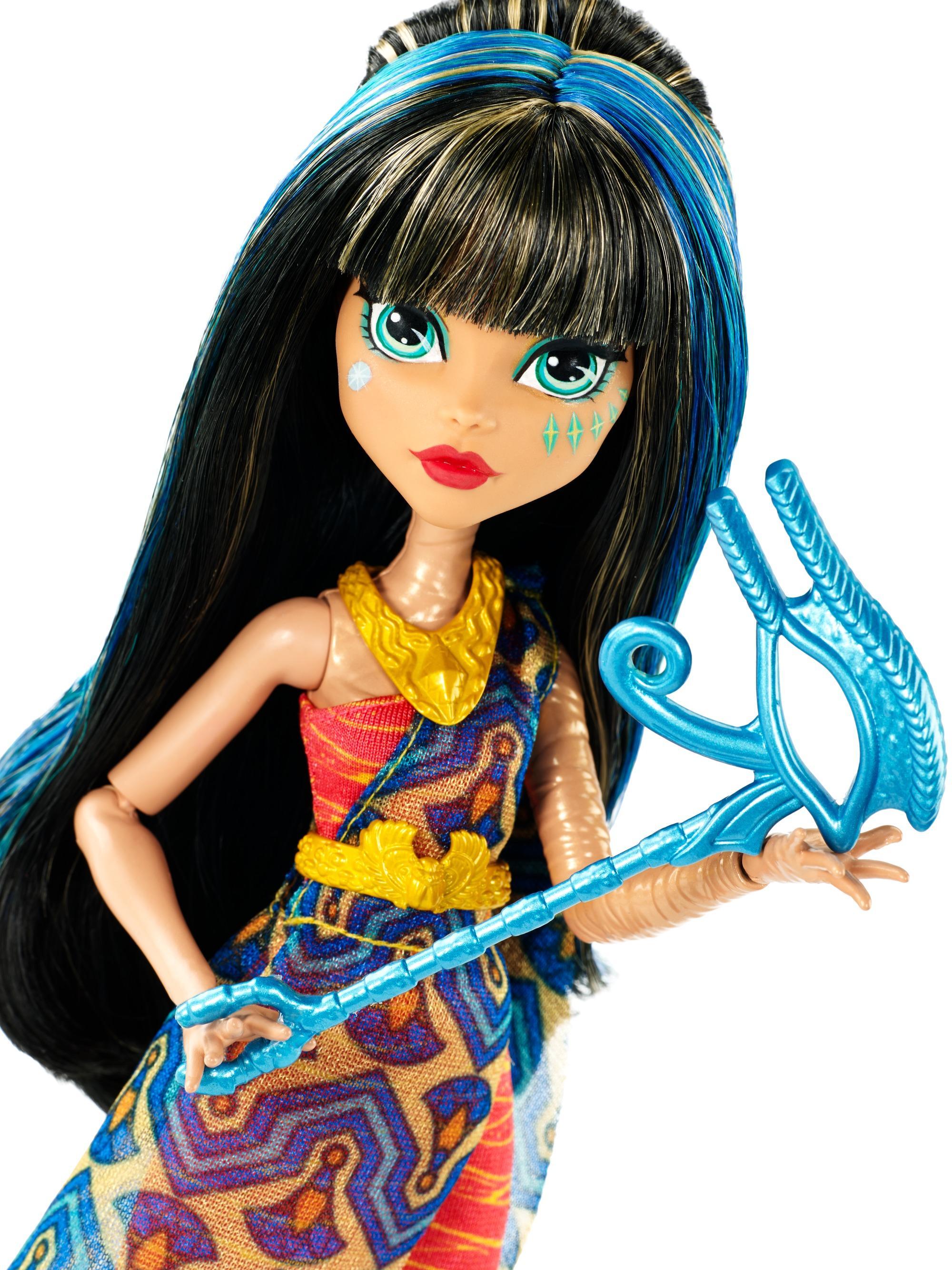 Worksheet. Amazoncom Monster High Dance The Fright Away Cleo De Nile Doll