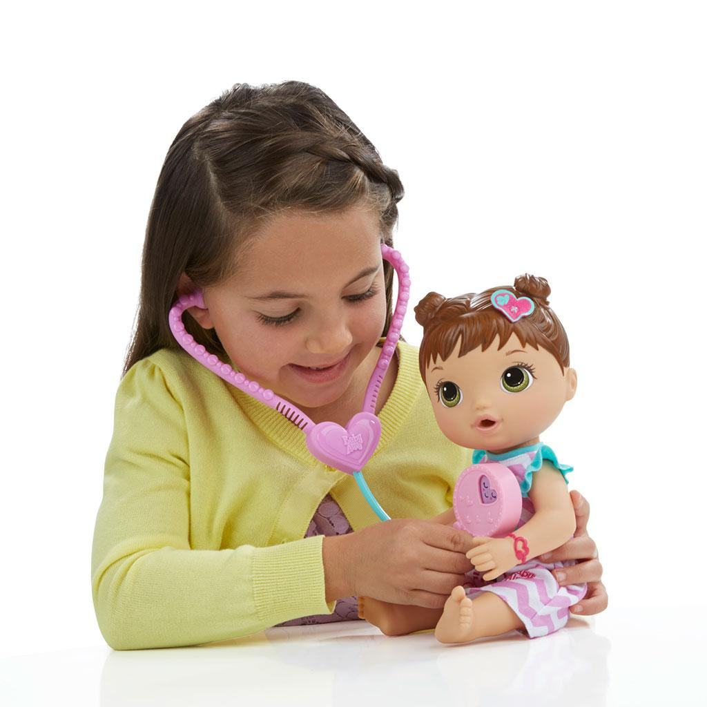 Amazon.com: Baby Alive Better Now Bailey (Brunette): Toys & Games