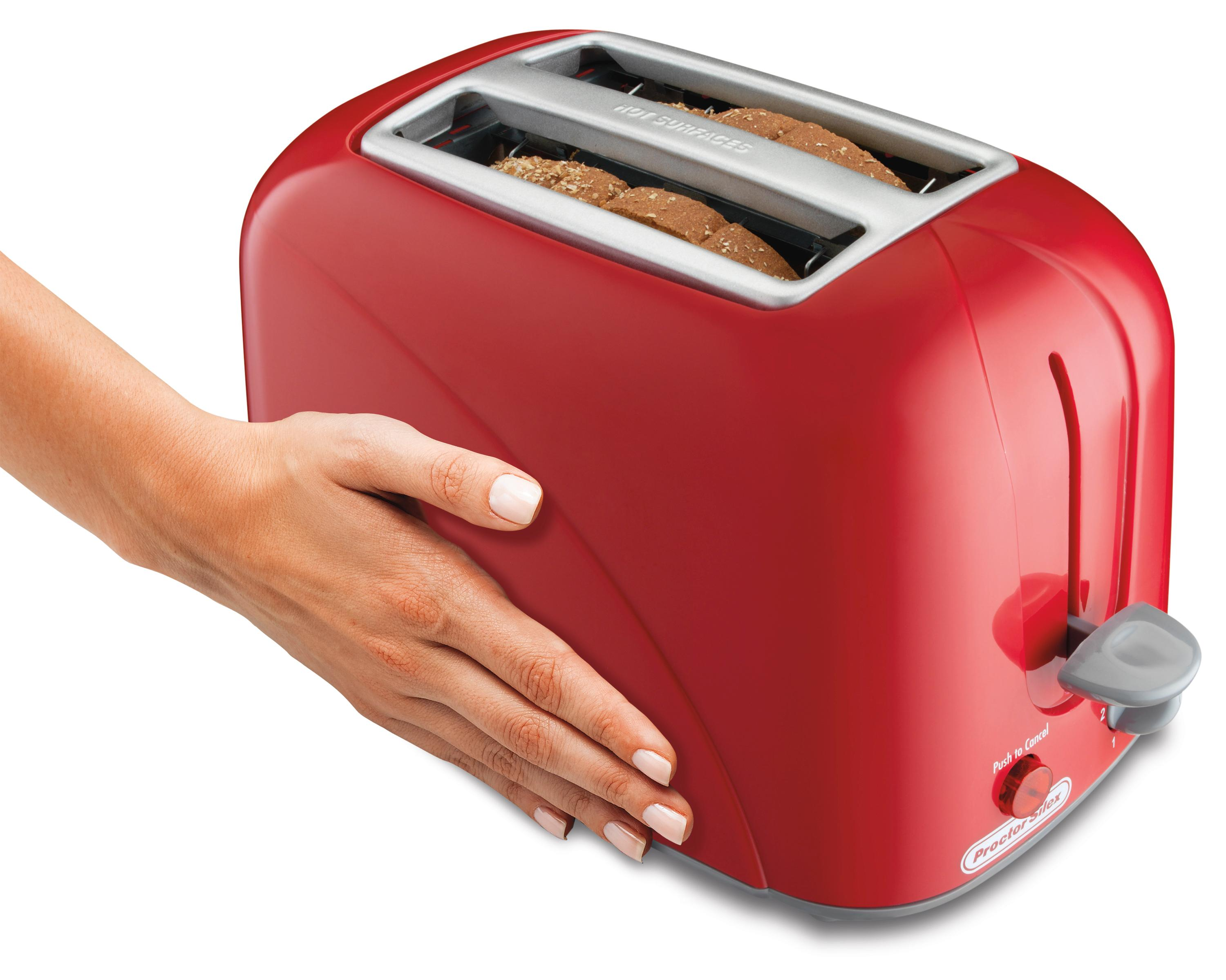 Amazon Proctor Silex 2 Slice Toaster Red Kitchen